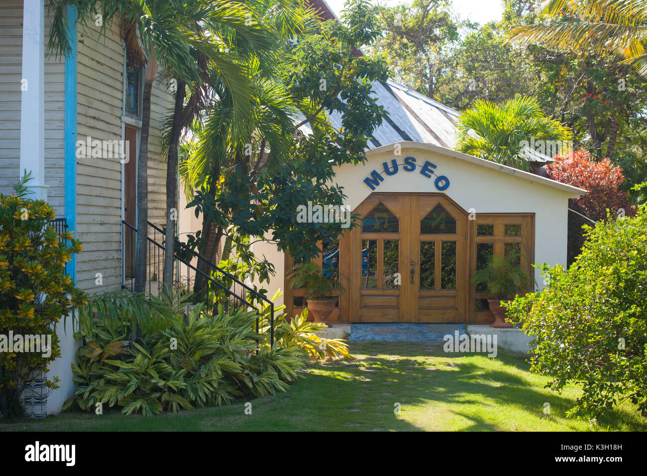 The Dominican Republic, north coast, Sosua, synagogue and museum Stock Photo