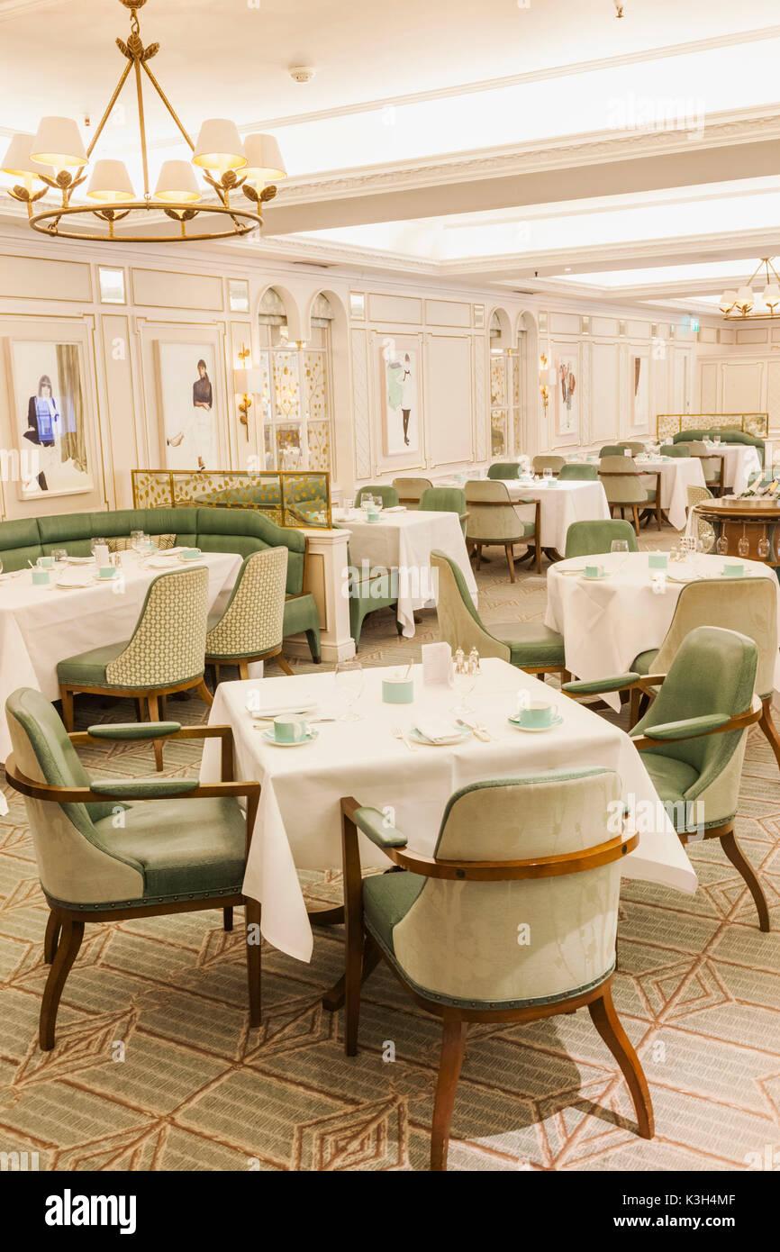 England, London, Piccadilly, 'Fortnum and Mason' Store, The Diamond Jubilee Tea Salon - Stock Image
