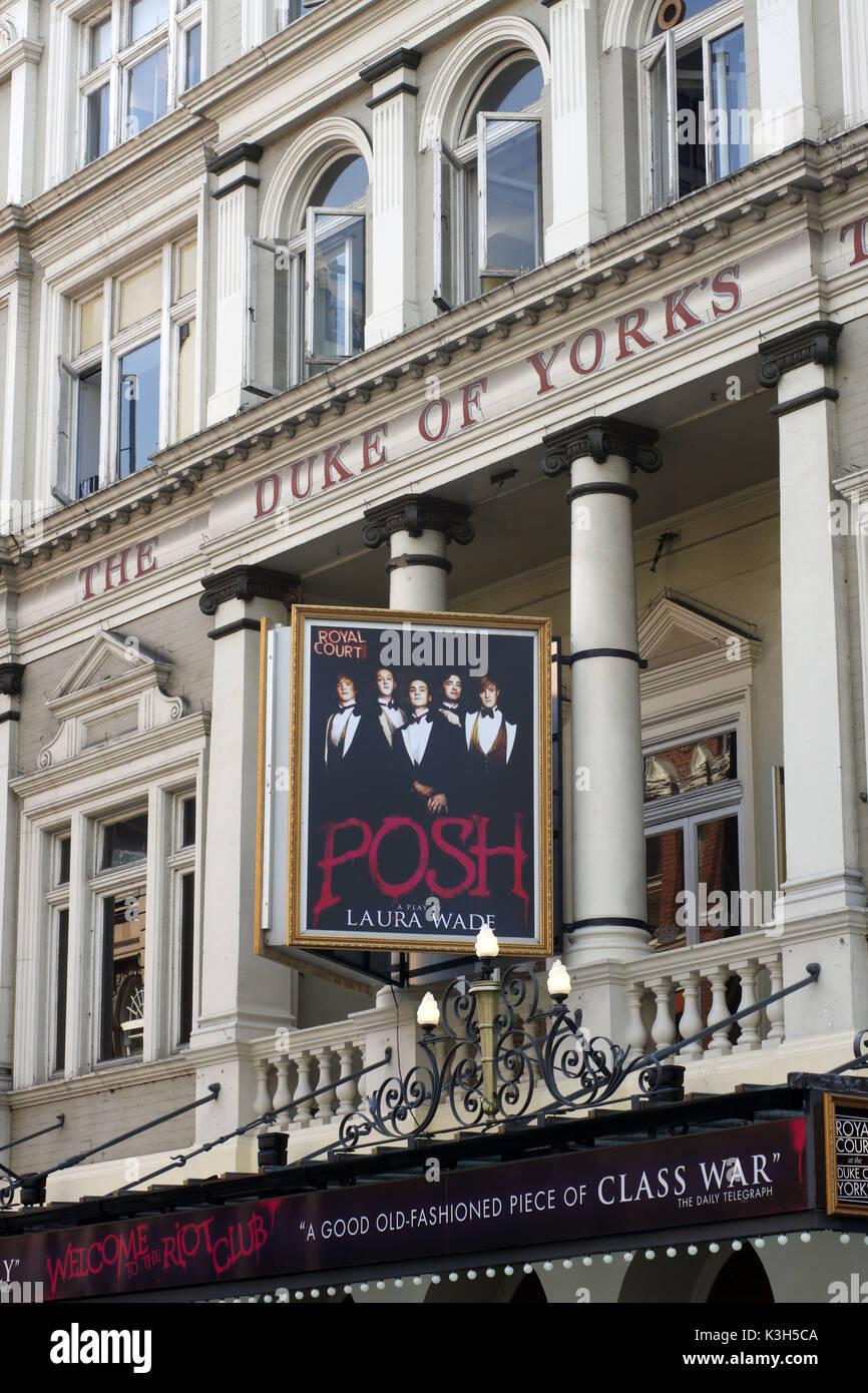 'Posh', Duke of Yorks's Theatre, London, England - Stock Image