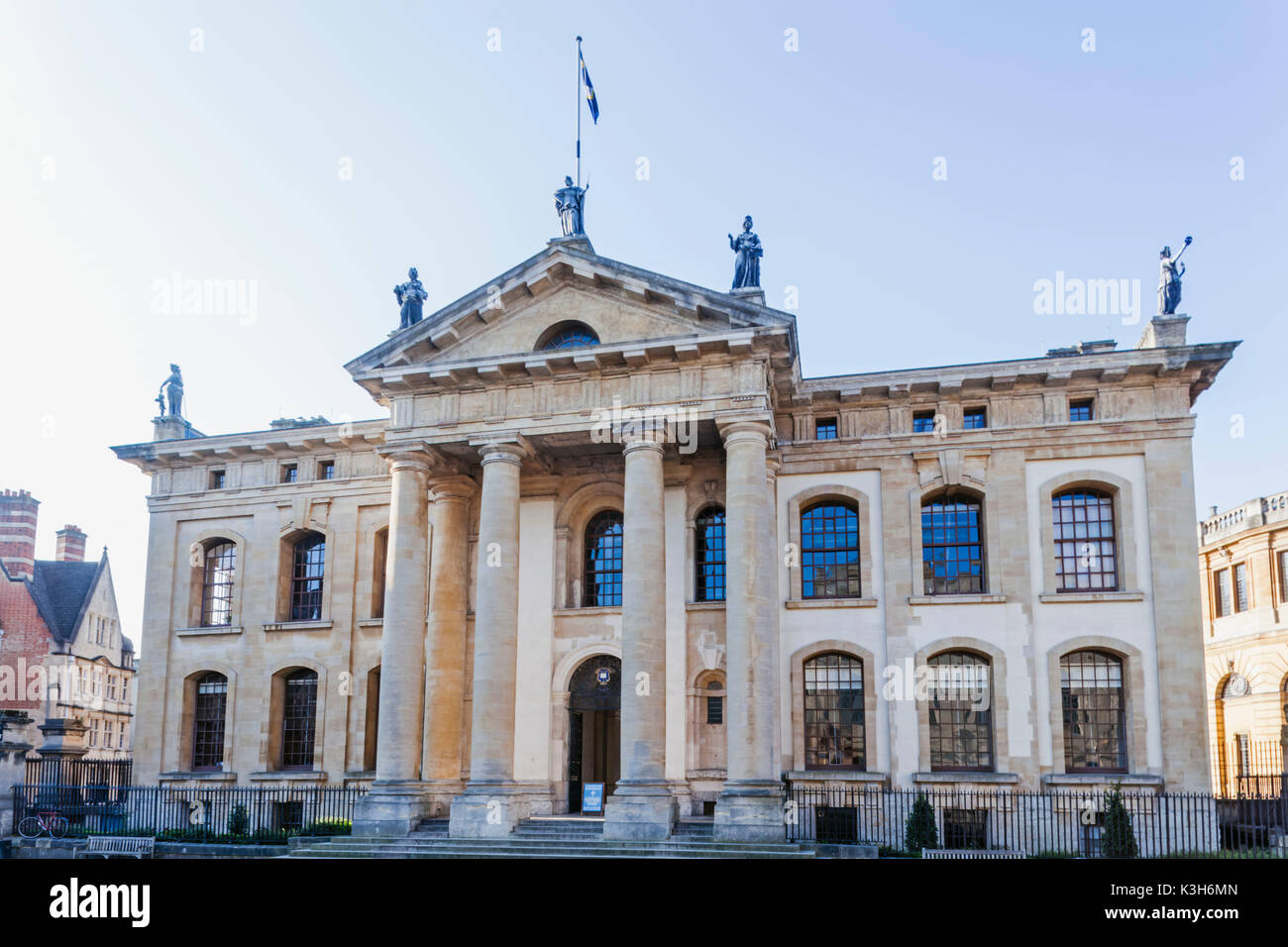 England, Oxfordshire, Oxford, Bodleian Library Building, The Clarendon Building - Stock Image