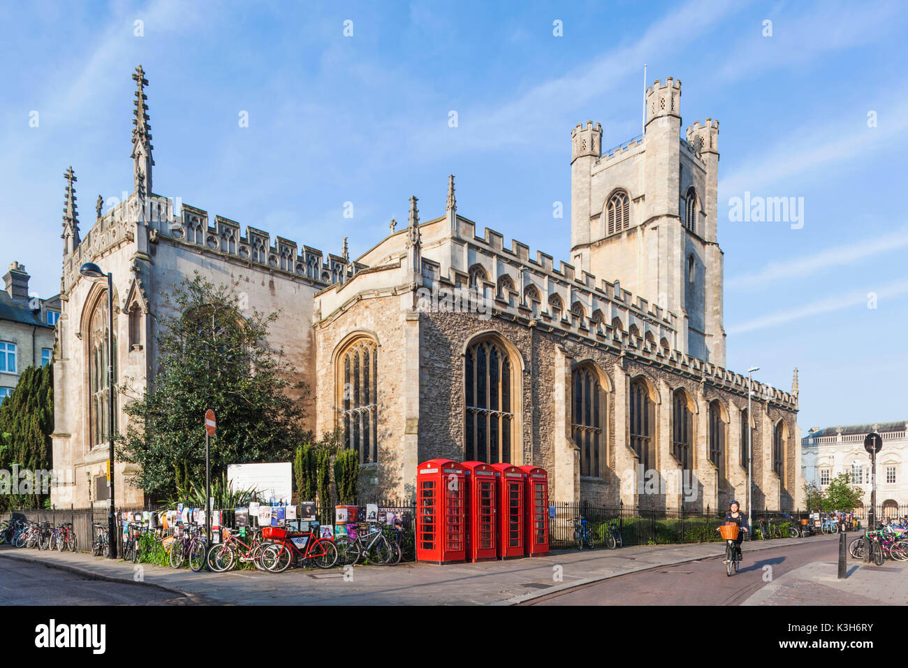 England, Cambridgeshire, Cambridge, Old Great St.Mary's Church - Stock Image
