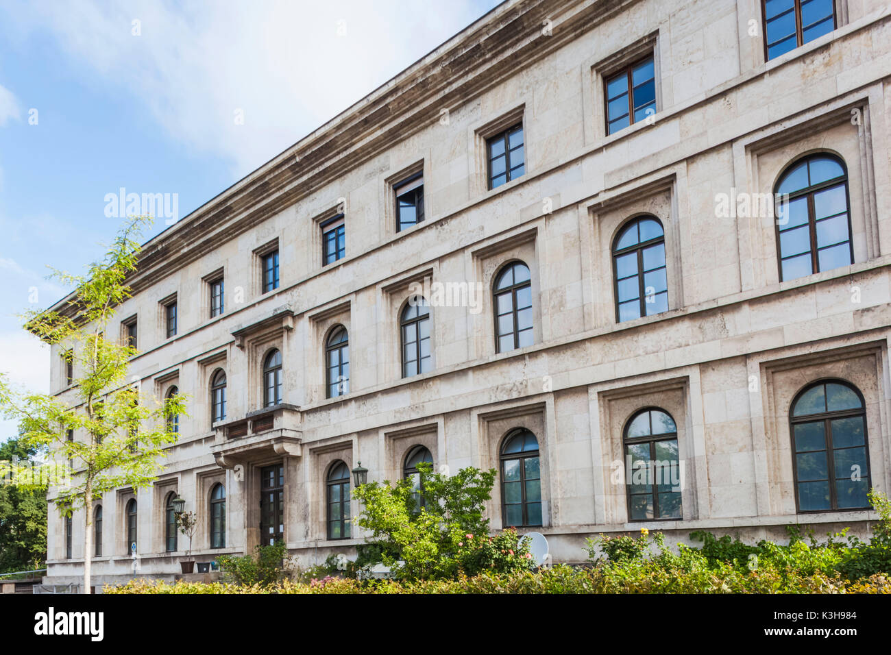Germany, Bavaria, Munich, The 'Brown House', former Headquarters of the National Socialist German Workers Party aka Nazi Party - Stock Image
