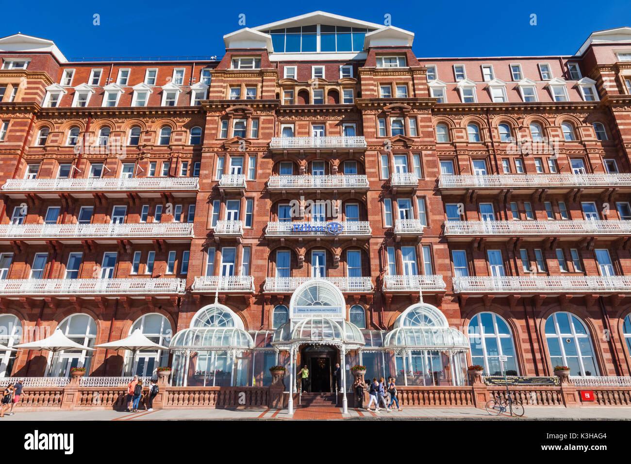 England, East Sussex, Brighton, Hilton Hotel - Stock Image