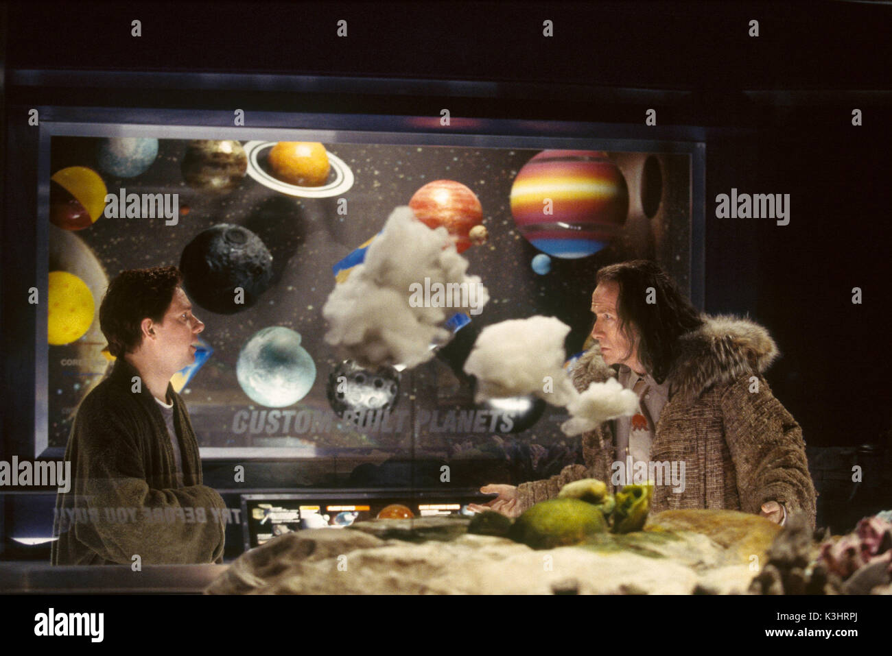 THE HITCHHIKER'S GUIDE TO THE GALAXY [US / BR 2005]  MARTIN FREEMAN, BILL NIGHY     Date: 2005 Stock Photo