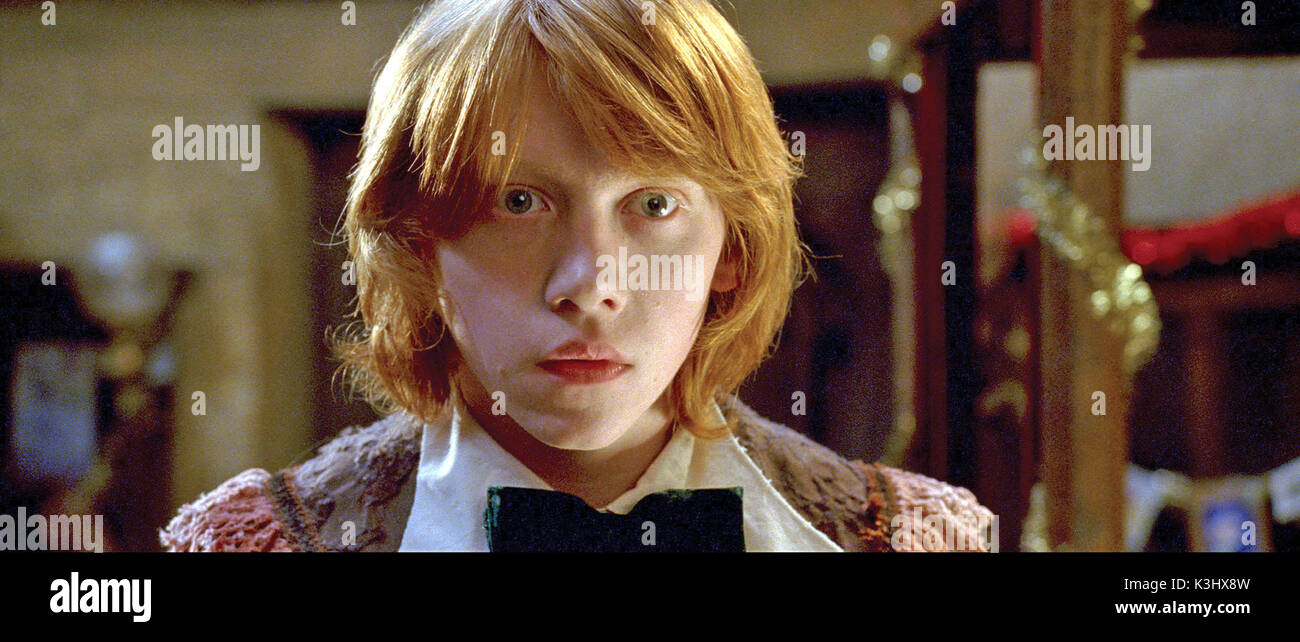 HARRY POTTER AND THE GOBLET OF FIRE RUPERT GRINT as Ron Weasley     Date: 2005 - Stock Image