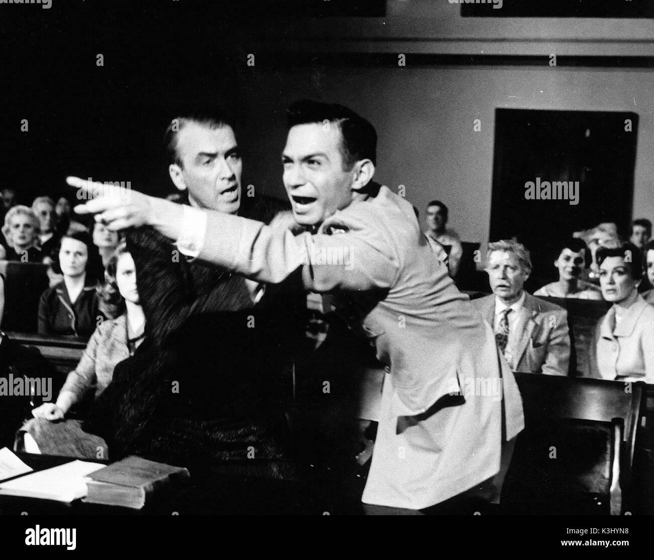 ANATOMY OF A MURDER , JAMES STEWART, BEN GAZZARA. Directed by Otto ...