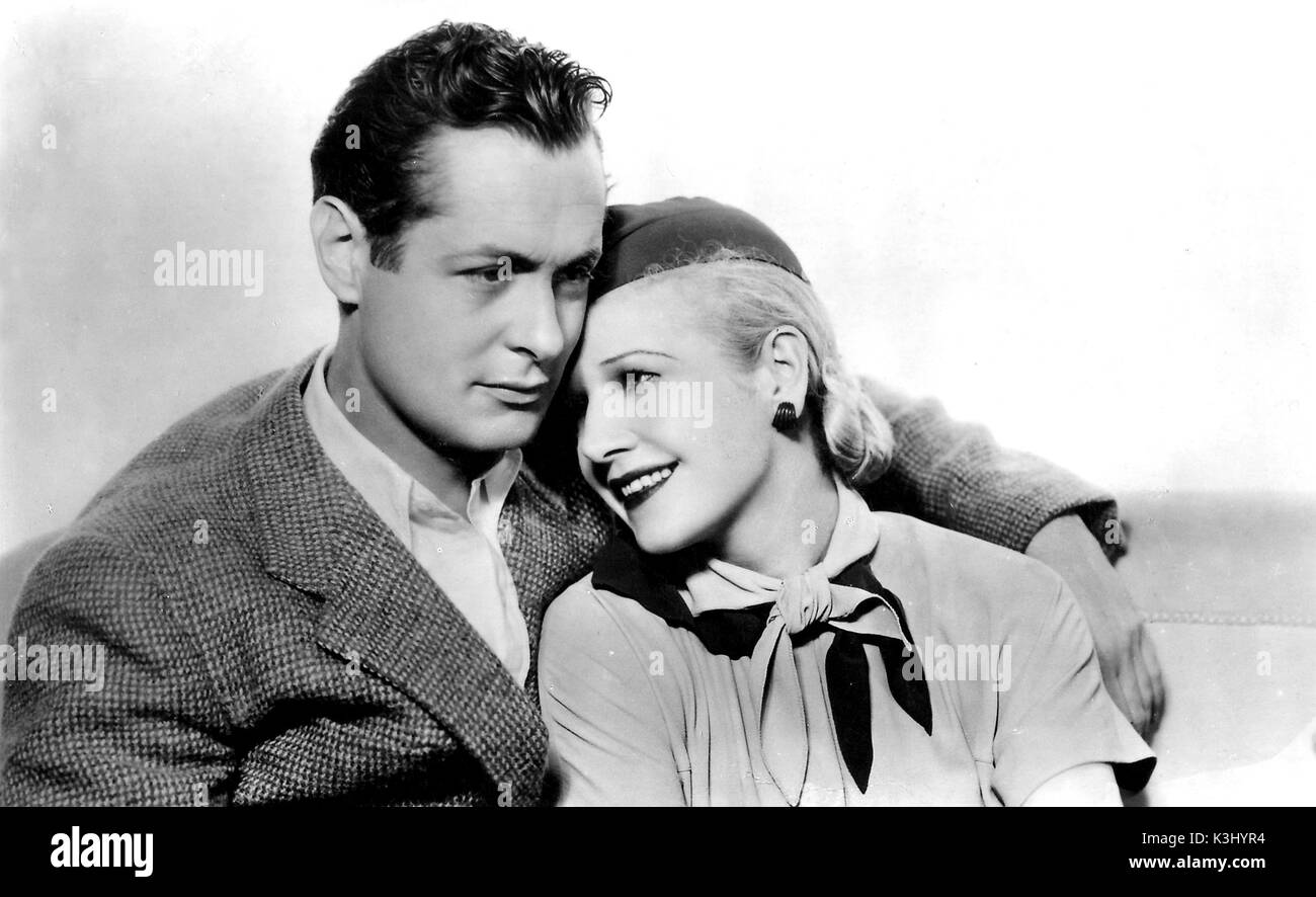 WHEN LADIES MEET ROBERT MONTGOMERY, ANN HARDING     Date: 1933 - Stock Image
