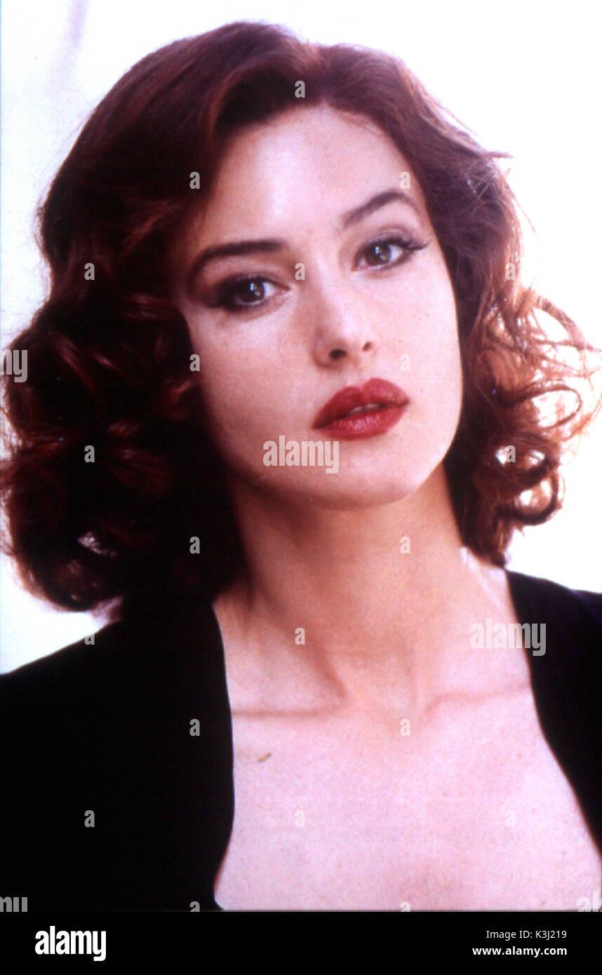 Malena Monica Bellucci Date 2000 Stock Image