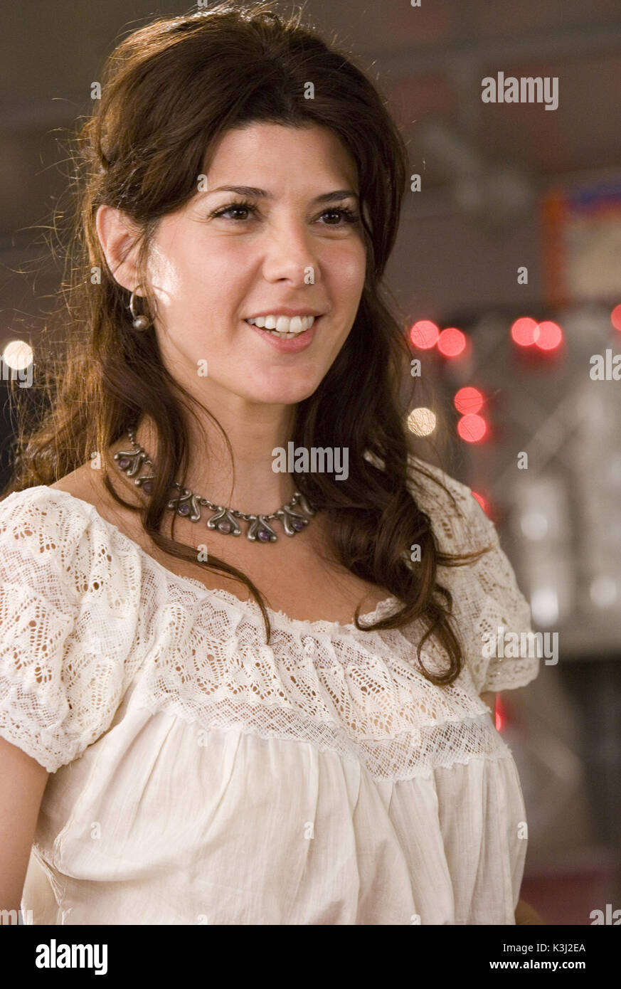"""WILD HOGS MARISA TOMEI """"Wild Hogs"""" Marisa Tomei ©Touchstone Pictures. All rights reserved.     Date: 2006 - Stock Image"""