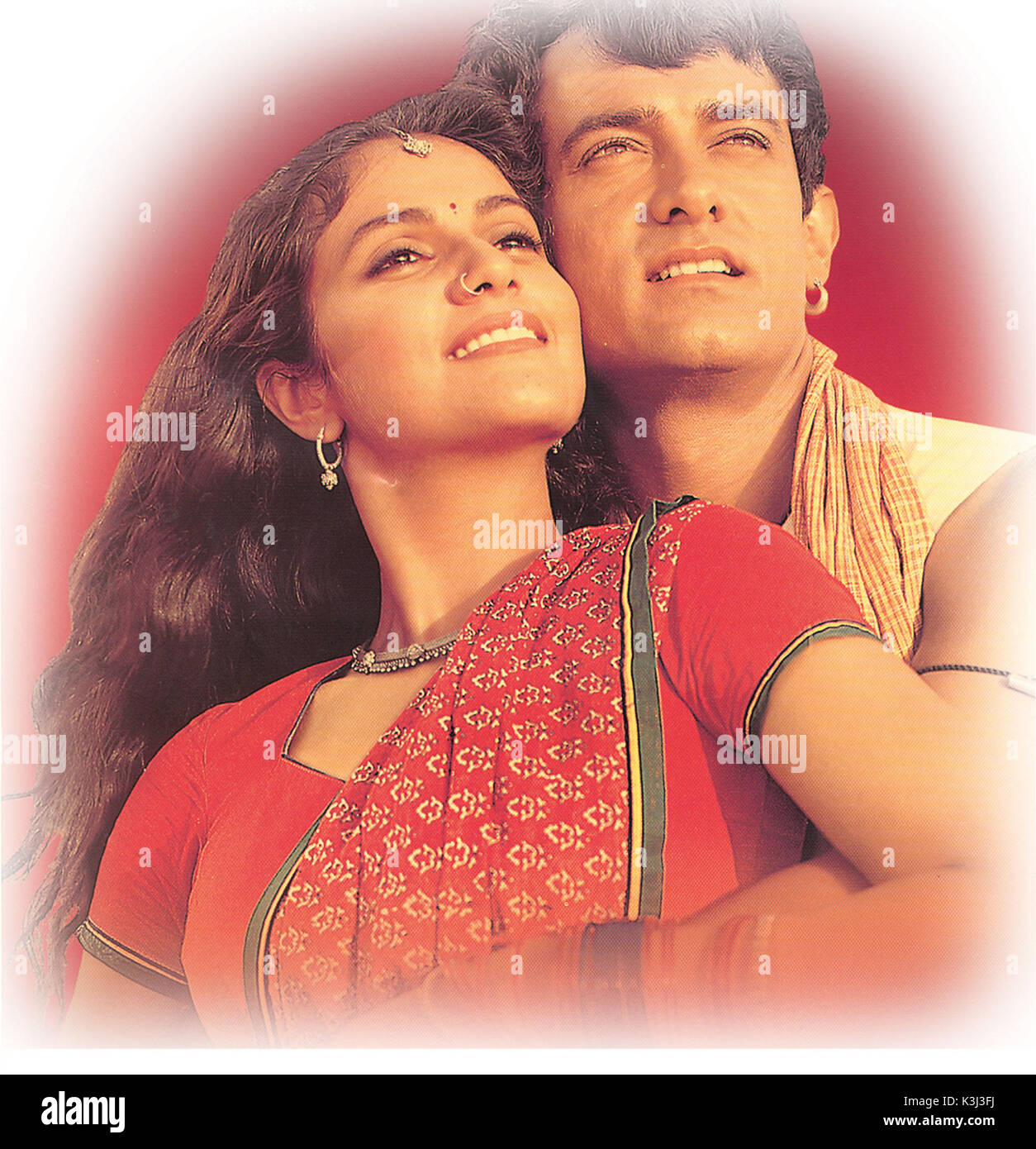 Lagaan Once Upon A Time In India Gracy Singh Aamir Khan Date Stock