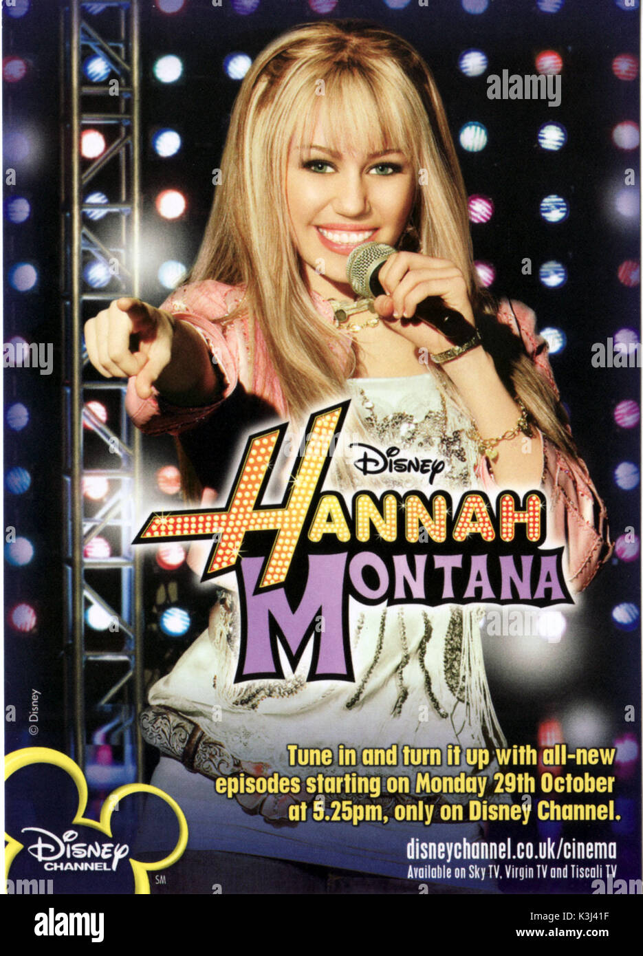 Hannah Montana Miley Cyrus Stock Photo Alamy