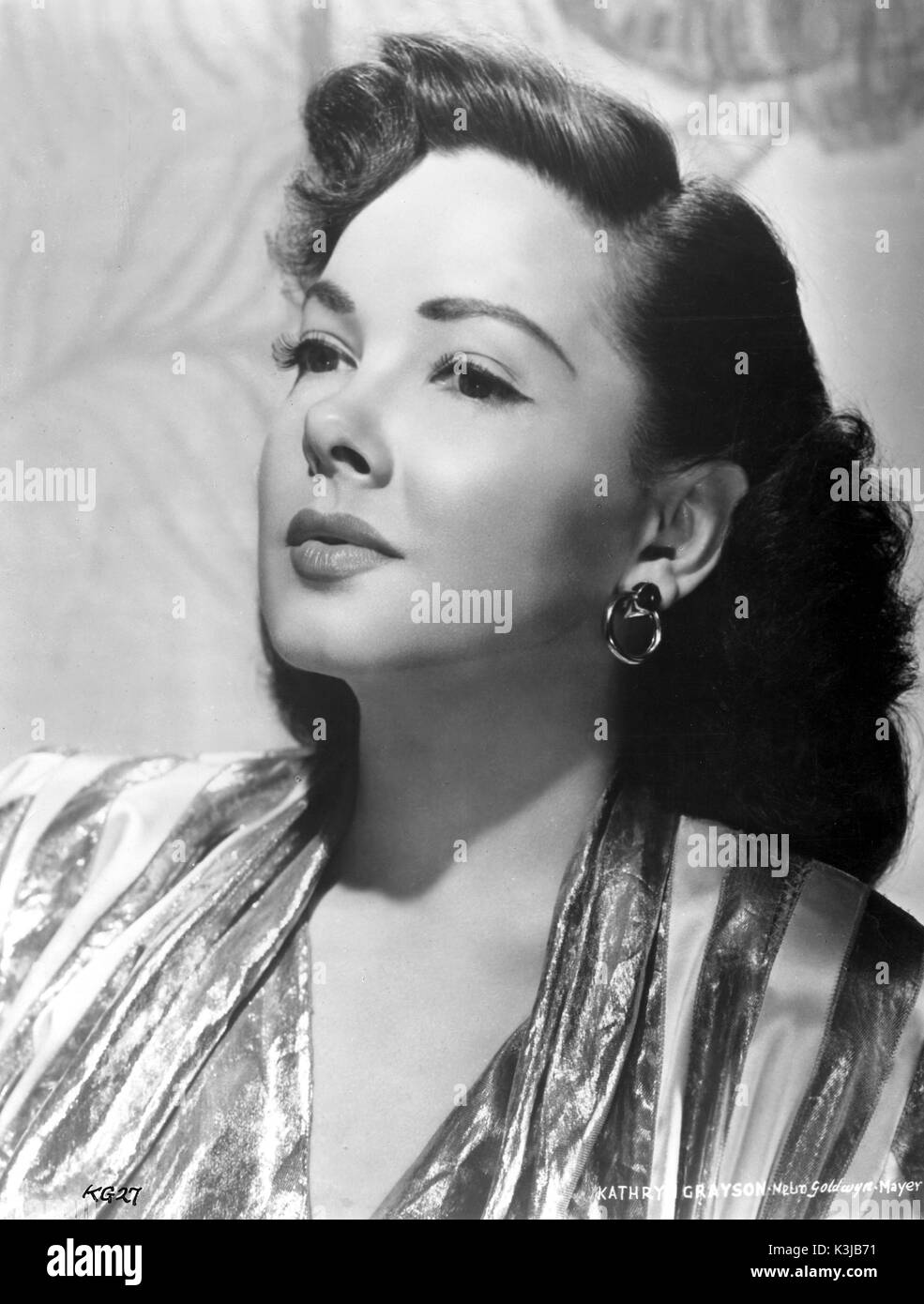 KATHRYN GRAYSON American Actress and Singer KATHRYN GRAYSON - Stock Image