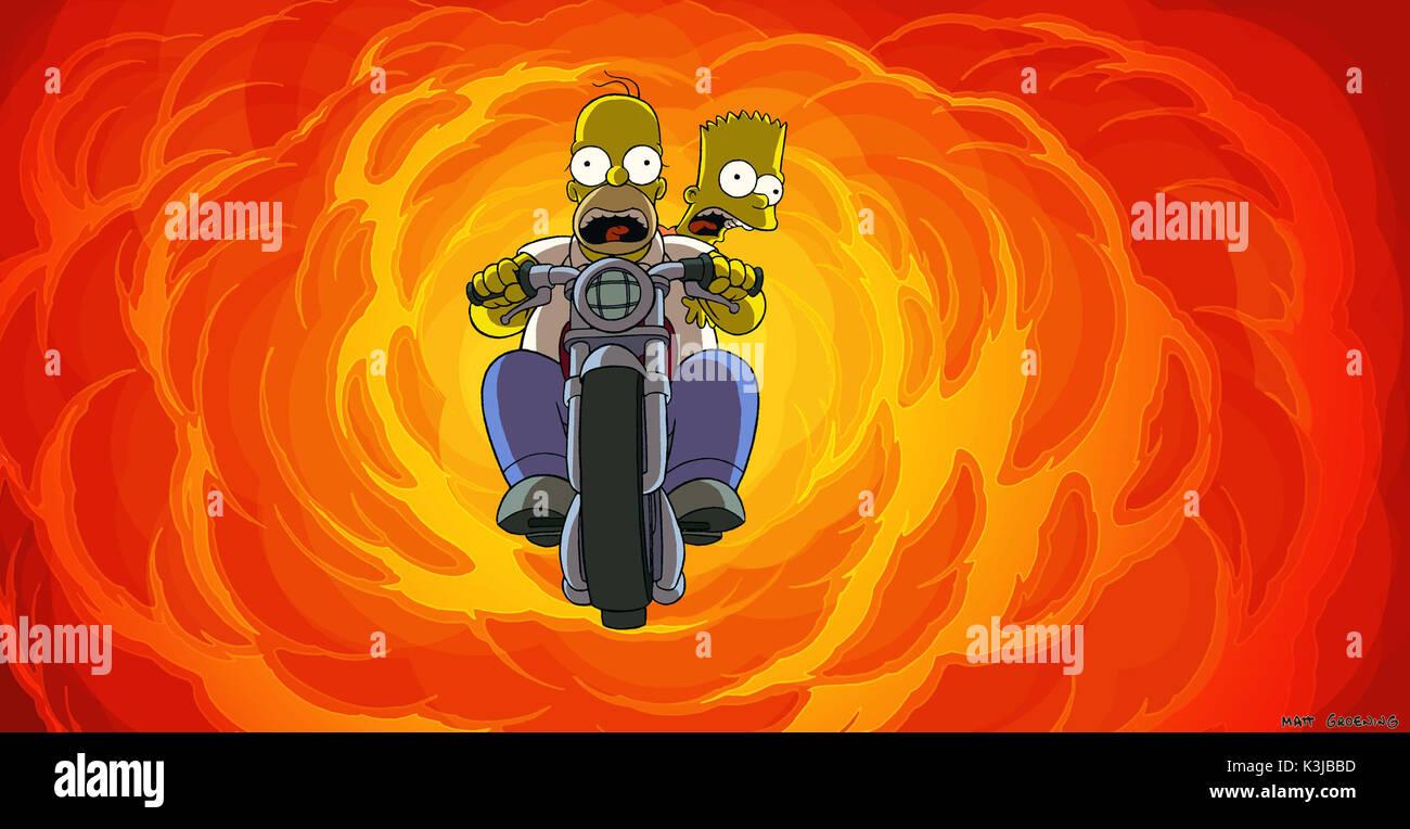 The Simpsons Movie Dan Castellaneta Voices Homer Simpson Nancy Stock Photo Alamy