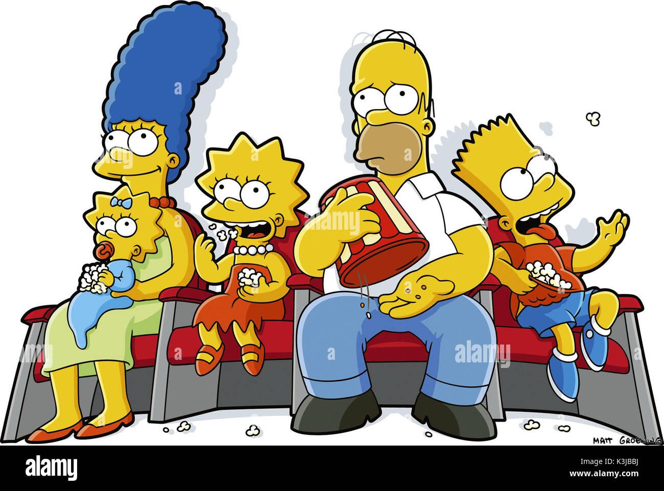 Lisa simpson bart simpson stock photos lisa simpson bart simpson stock images alamy - Marge simpson et bart ...