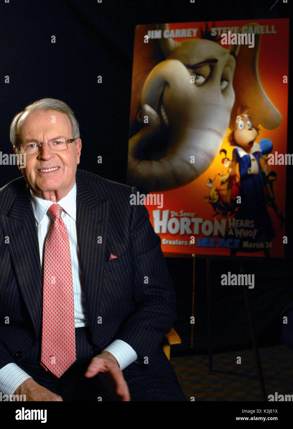 HORTON HEARS A WHO! [US 2008] aka DR. SUESS' HORTON HEARS A WHO! Esteemed newsman CHARLES OSGOOD is the film's Narrator       HORTON HEARS A WHO!     Date: 2008 - Stock Image