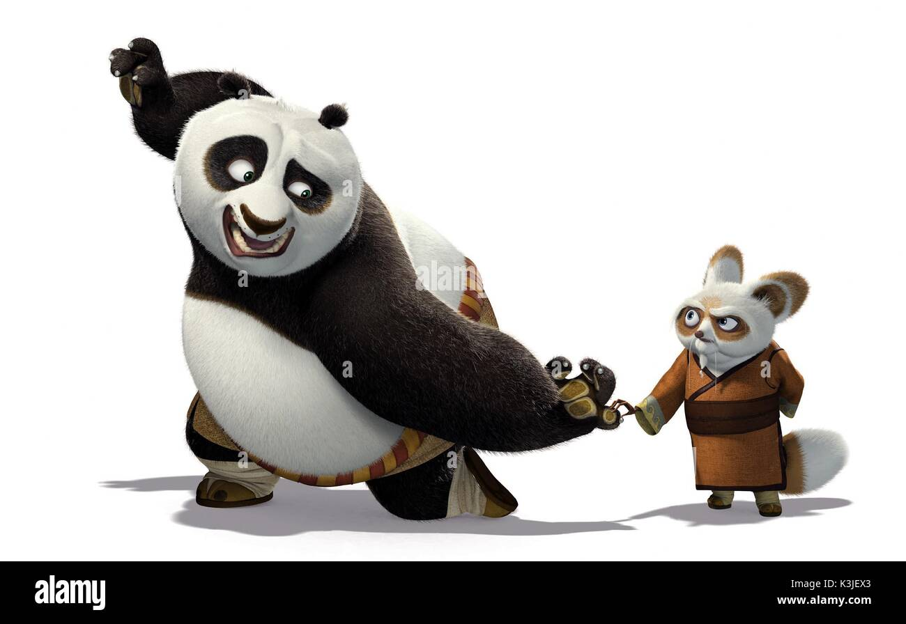 Kung fu panda jack black voices po dustin hoffman voices - Kung fu panda shifu ...