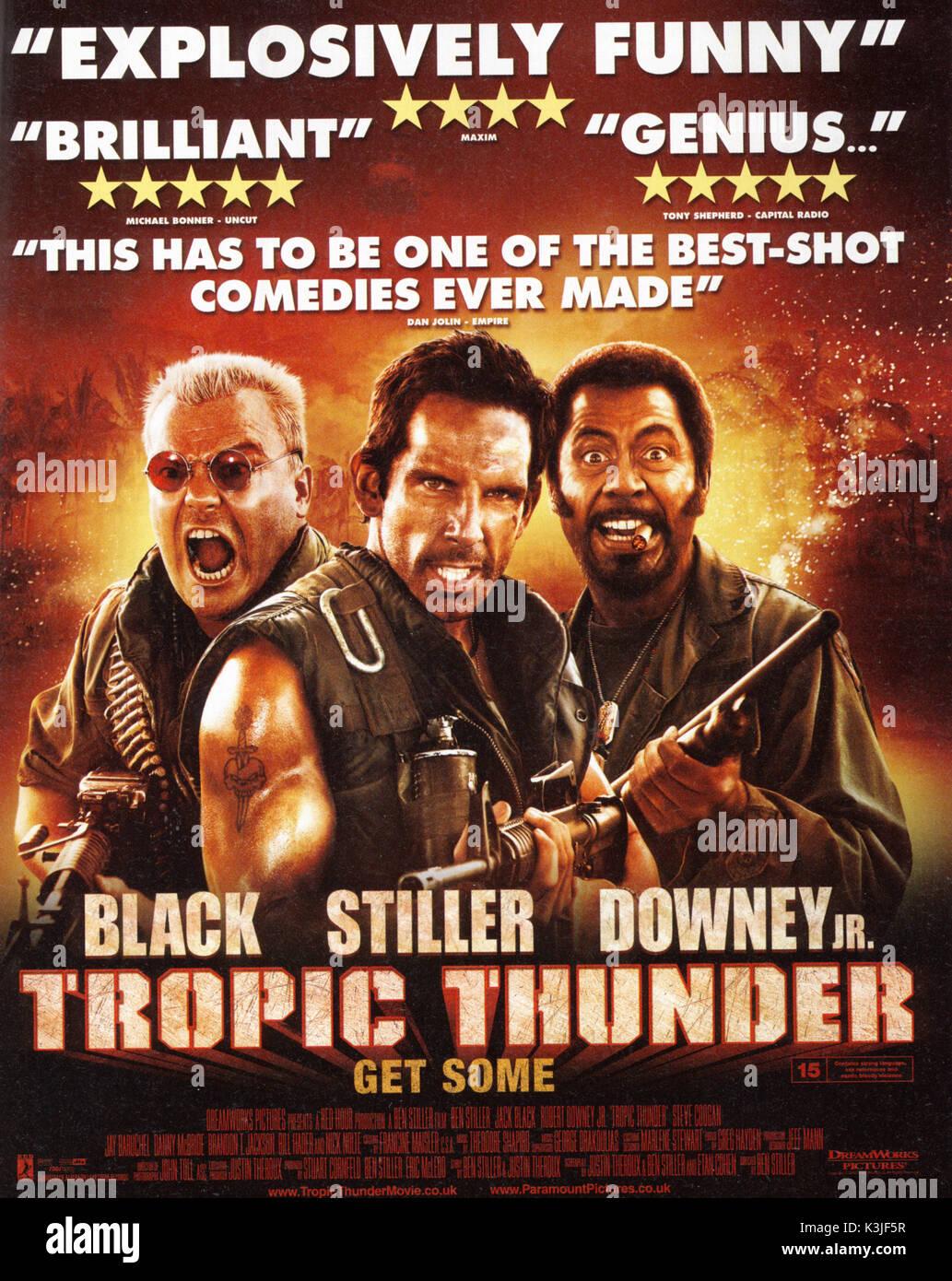 tropic thunder francais