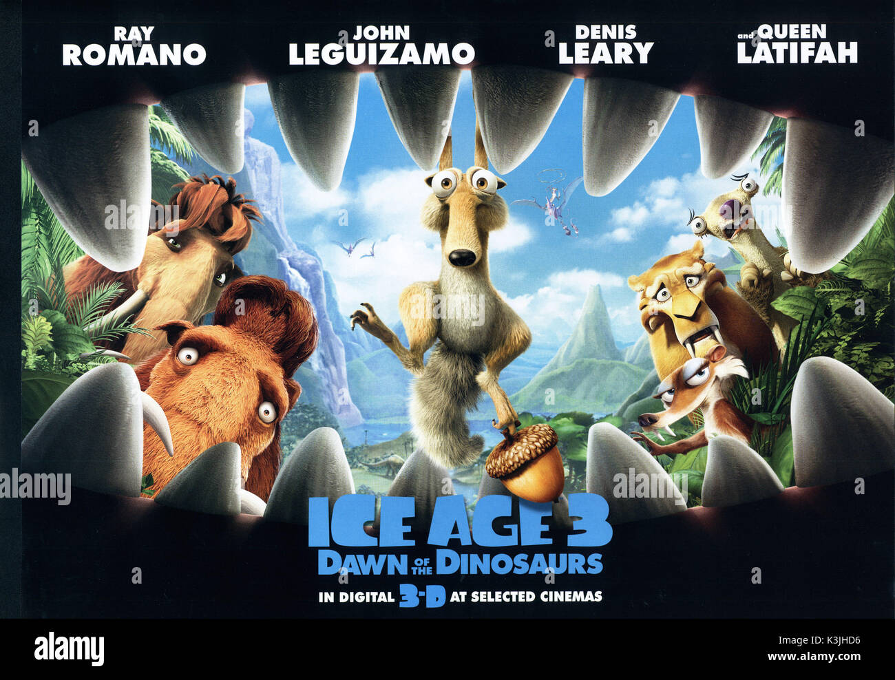 Ice Age Dawn Of The Dinosaurs Aka Ice Age 3 Ice Age Dawn Of The Stock Photo Alamy
