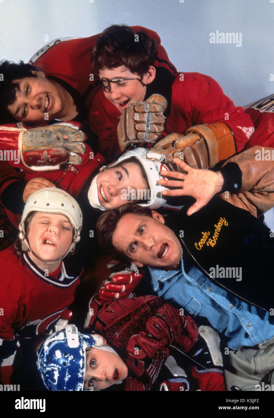 THE MIGHTY DUCKS EMILIO ESTEVEZ     Date: 1992 - Stock Image