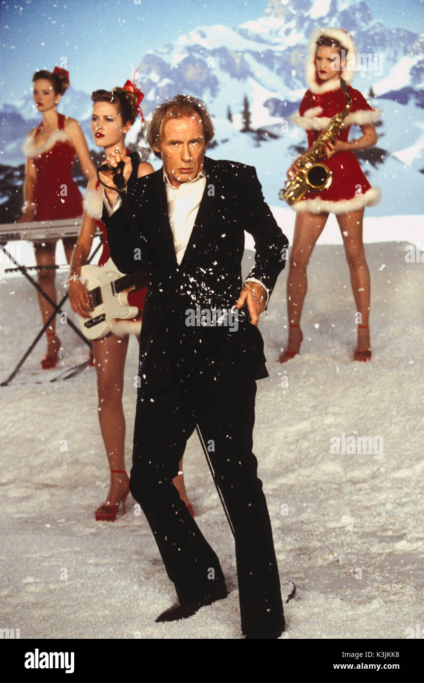 LOVE ACTUALLY BILL NIGHY     Date: 2003 - Stock Image