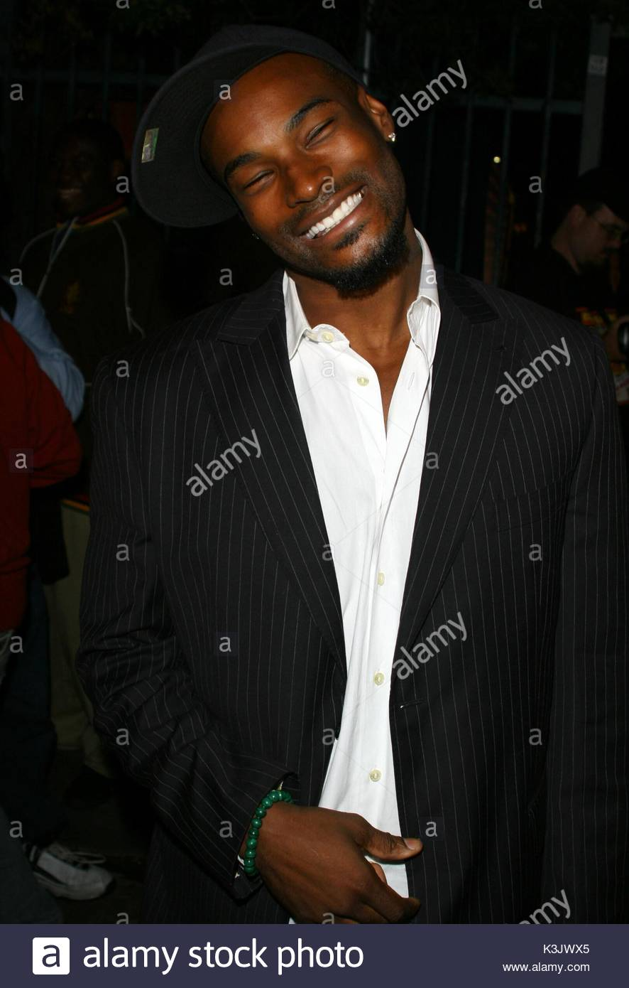 4ba7c740d95 Model and actor tyson beckford leaving the us weekly hot hollywood event at  the opera nightclub