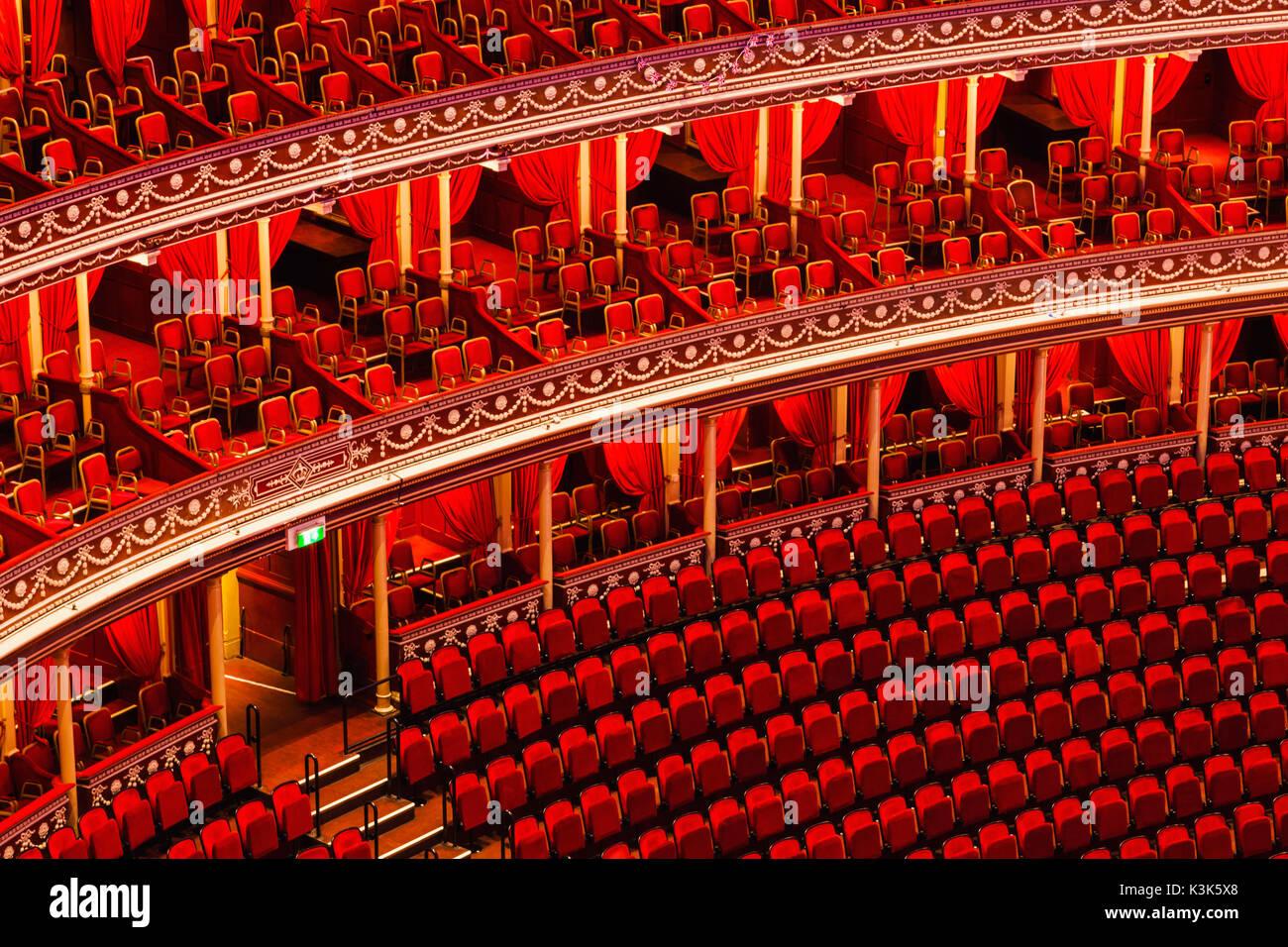 England, London, Royal Albert Hall - Stock Image