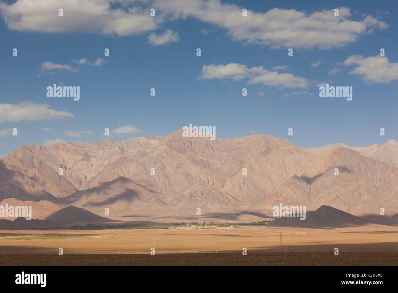 Iran, Southeastern Iran, Rayen, mountains - Stock Image