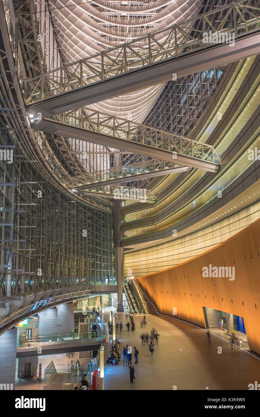 Japan, Tokyo City, Ginza Area, Yurakucho, Tokyo Forum Bldg. - Stock Image