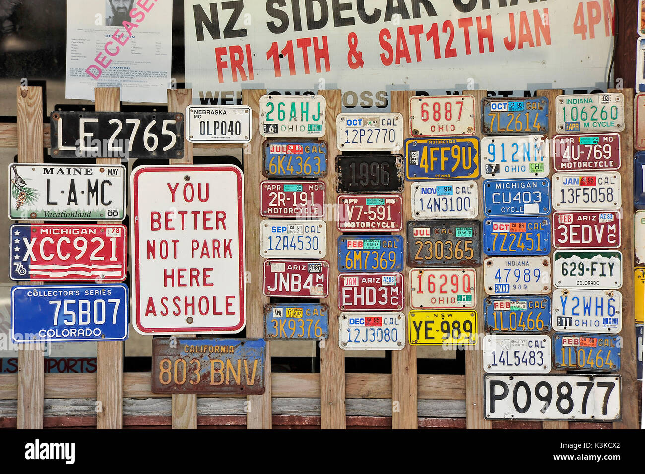 Number Plates Stock Photos & Number Plates Stock Images - Alamy