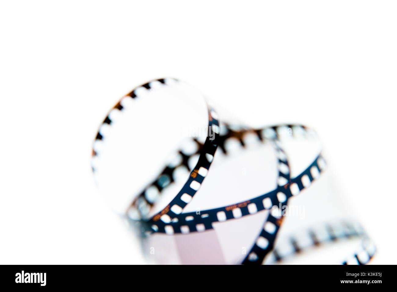 analogous film strips - Stock Image