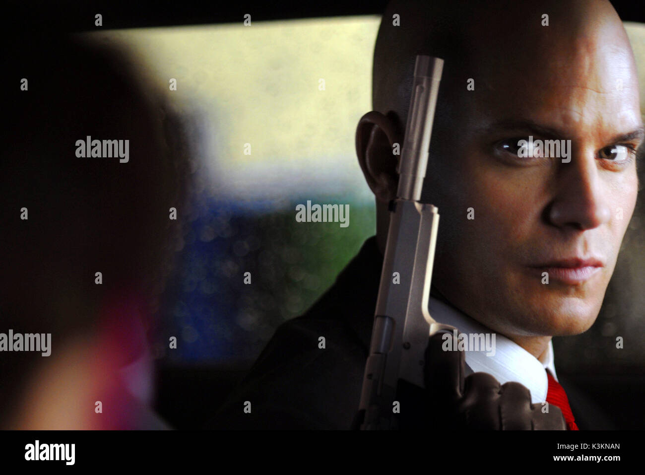 Hitman Timothy Olyphant As Agent 47 Date 2007 Stock Photo