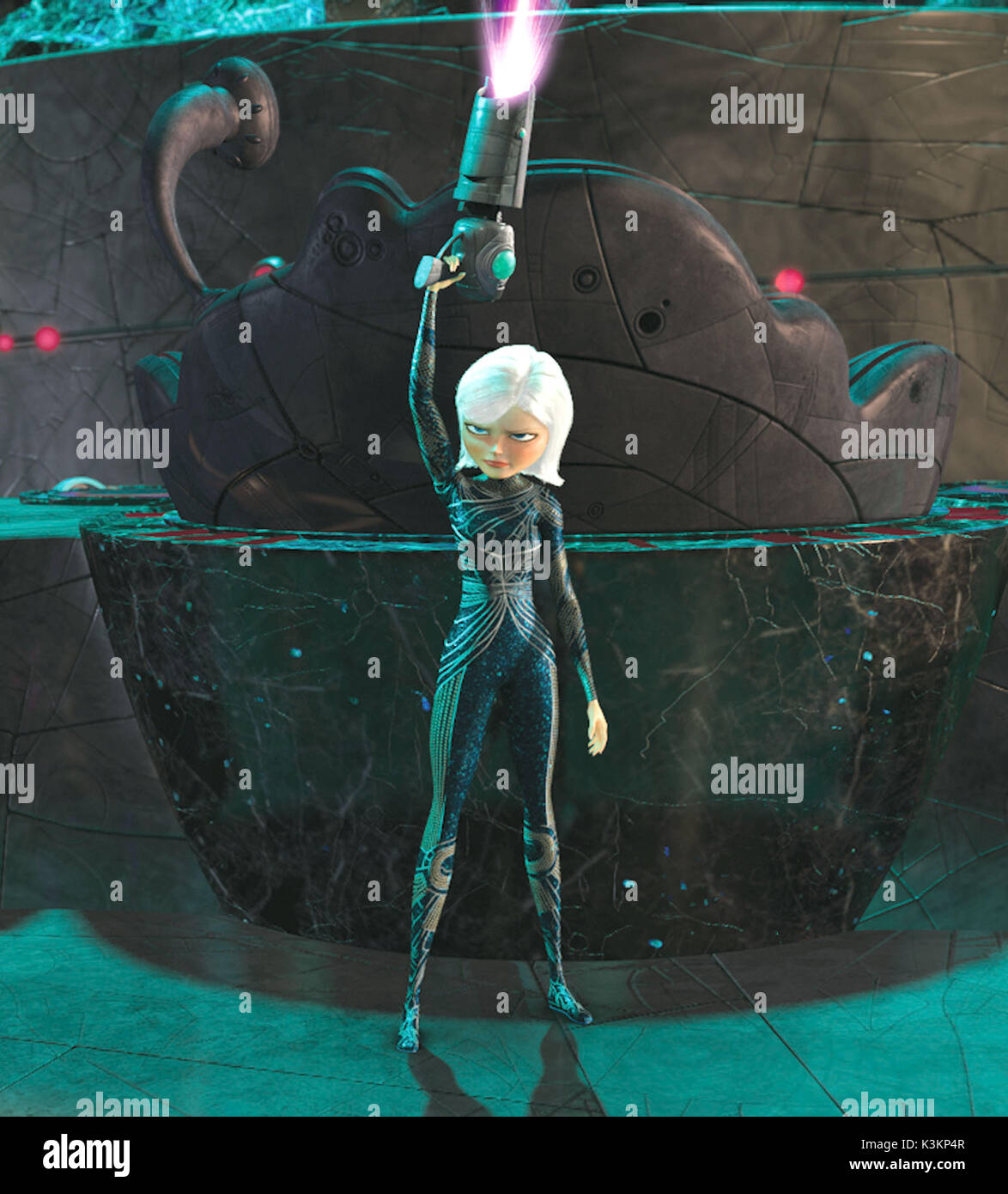 MONSTERS VS ALIENS REESE WITHERSPOON voices Ginormica        Date: 2009 - Stock Image