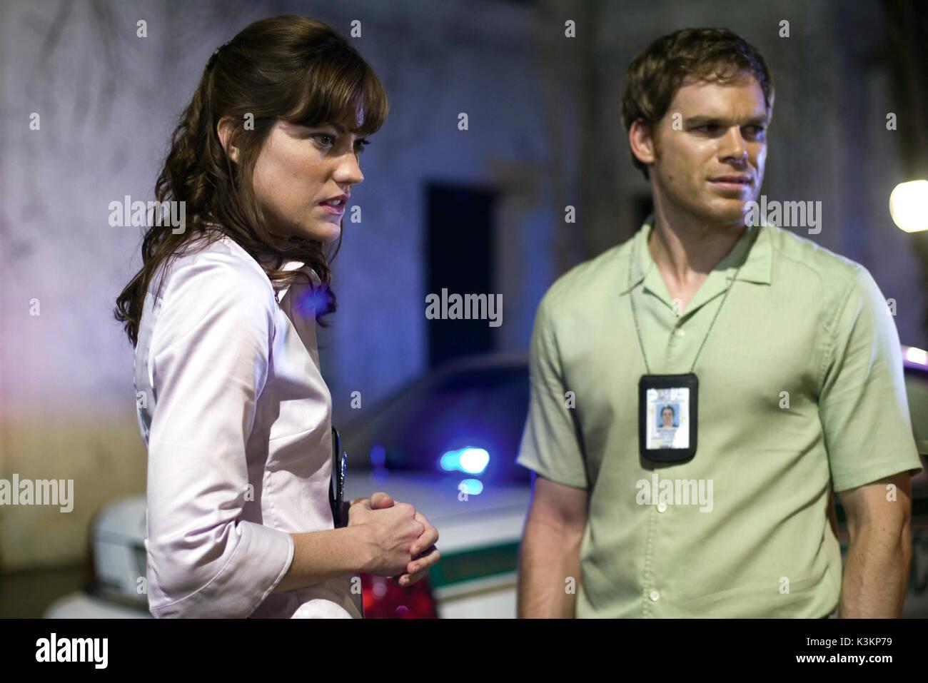 Dexter dating Debra