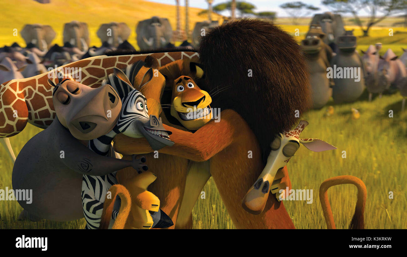 Madagascar Escape 2 Africa Jada Pinkett Smith Voices Gloria Stock Photo Alamy