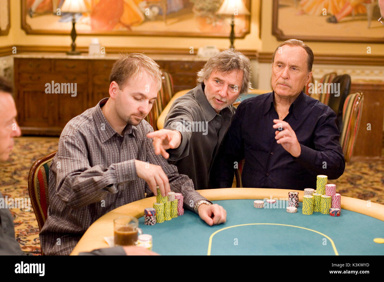 Lucky You Poker Pro Daniel Negreanu Director Curtis Hanson Robert Stock Photo Alamy