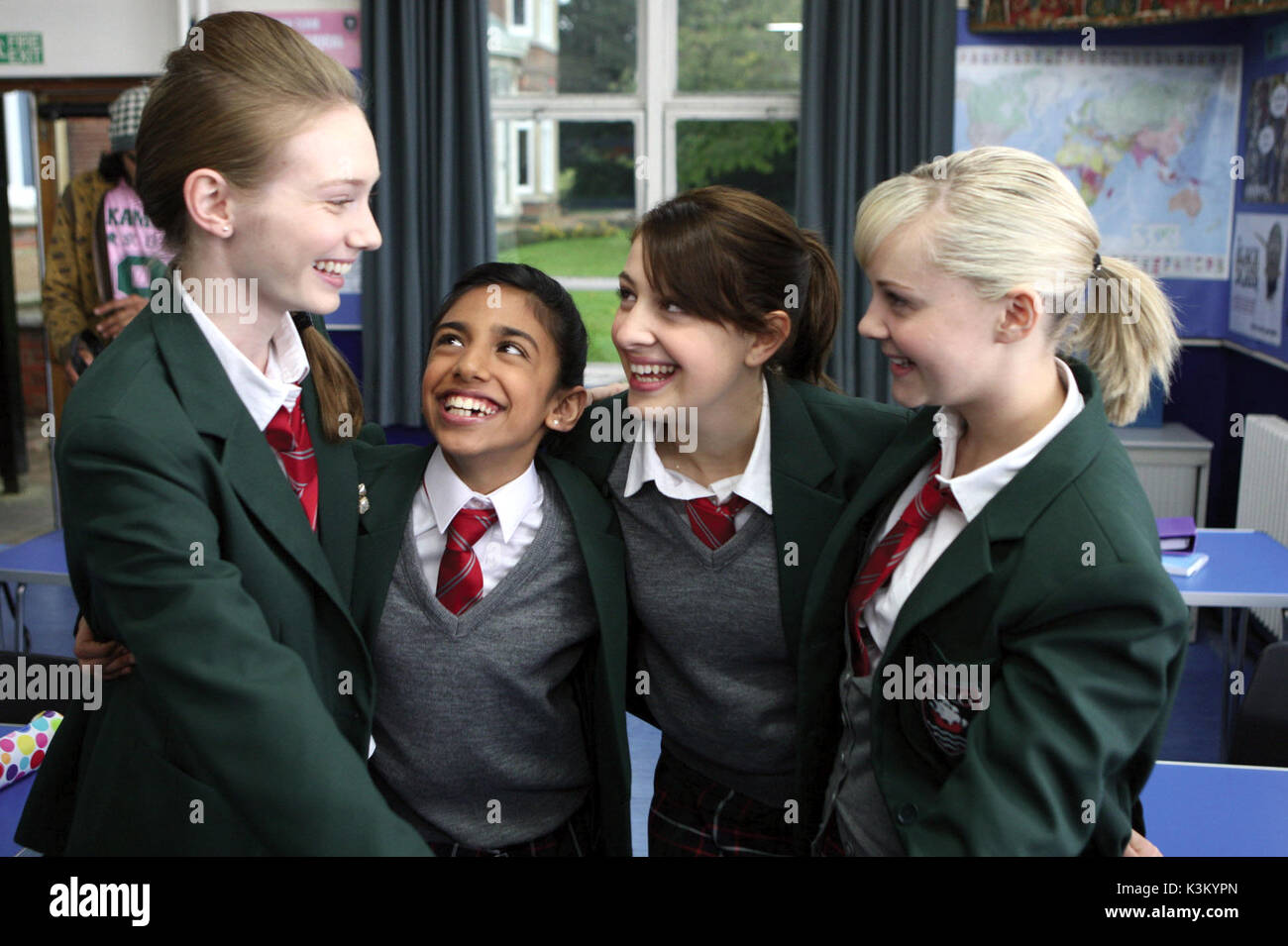 Angus Thongs And Perfect Snogging Cast georgia henshaw stock photos & georgia henshaw stock images