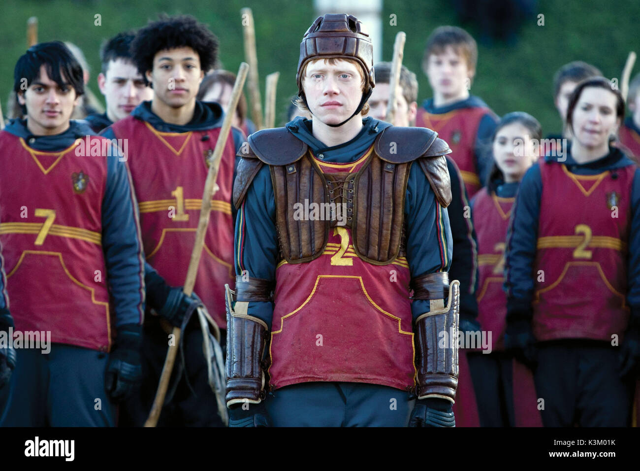 HARRY POTTER AND THE HALF BLOOD PRINCE RUPERT GRINT as Ron Weasley        Date: 2009 - Stock Image