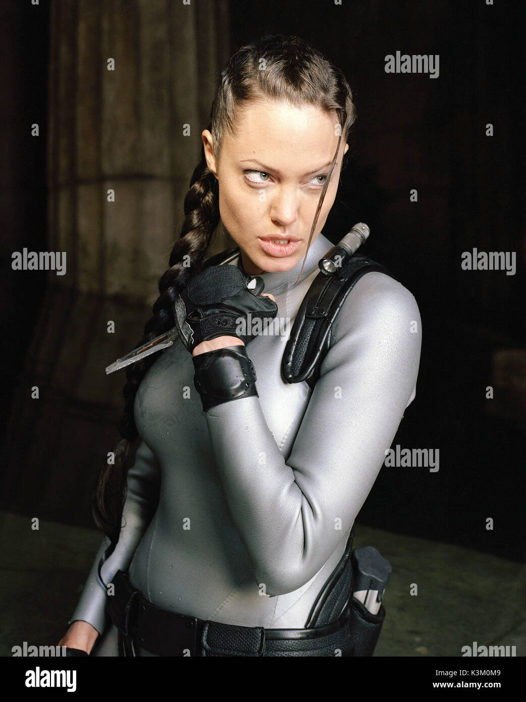 Lara Croft Tomb Raider The Cradle Of Life Angelina Jolie As Lara Stock Photo Alamy