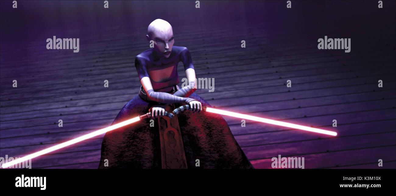 STAR WARS: THE CLONE WARS Asajj Ventress, disciple of the dark side