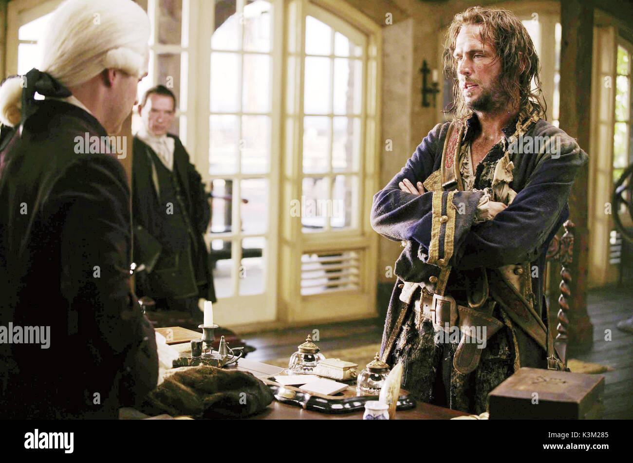 PIRATES OF THE CARIBBEAN: DEAD MAN'S CHEST [US 2006]  JACK DAVENPORT       Date: 2006 - Stock Image
