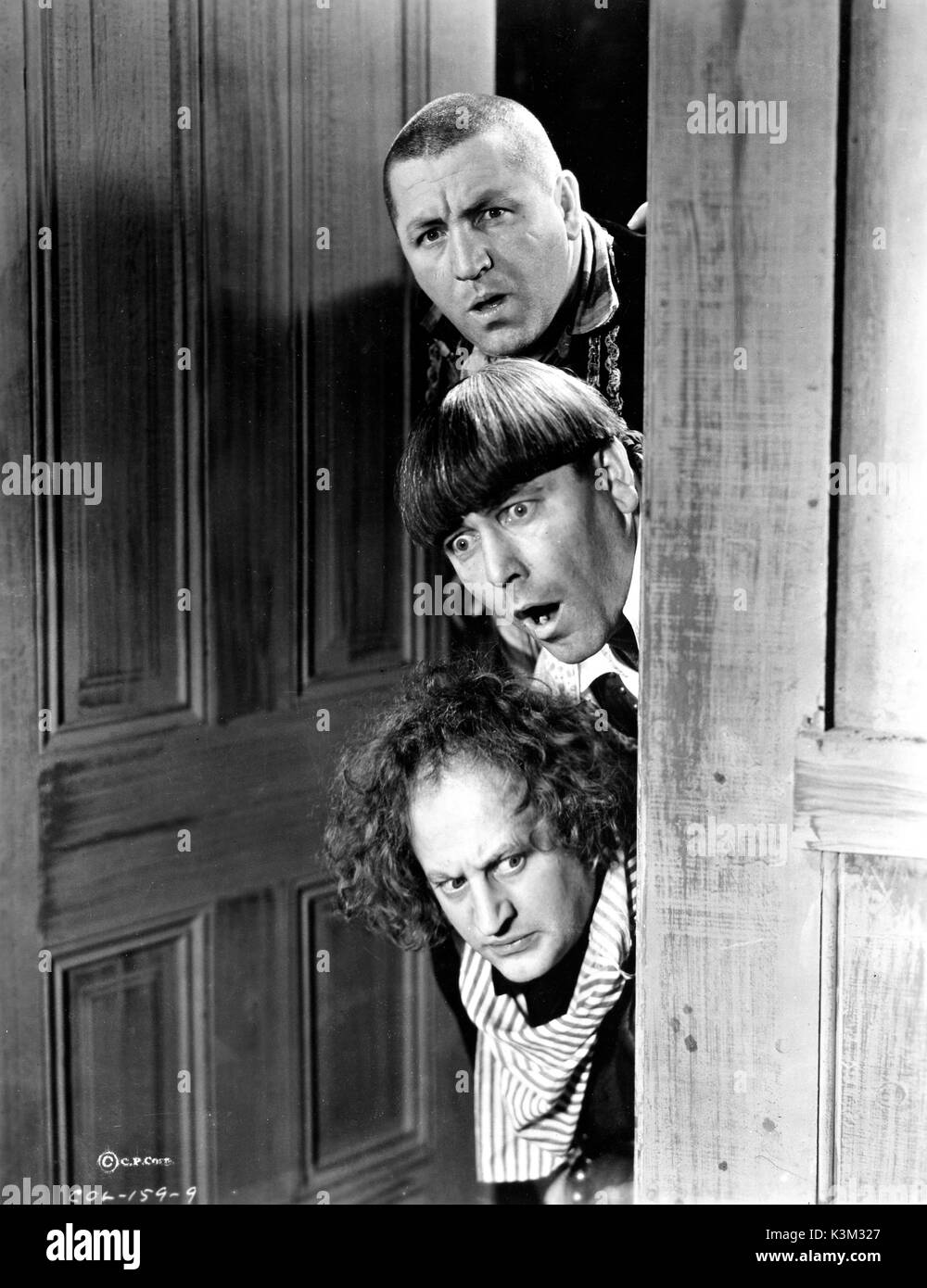 the three stooges curly howard moe howard larry fine