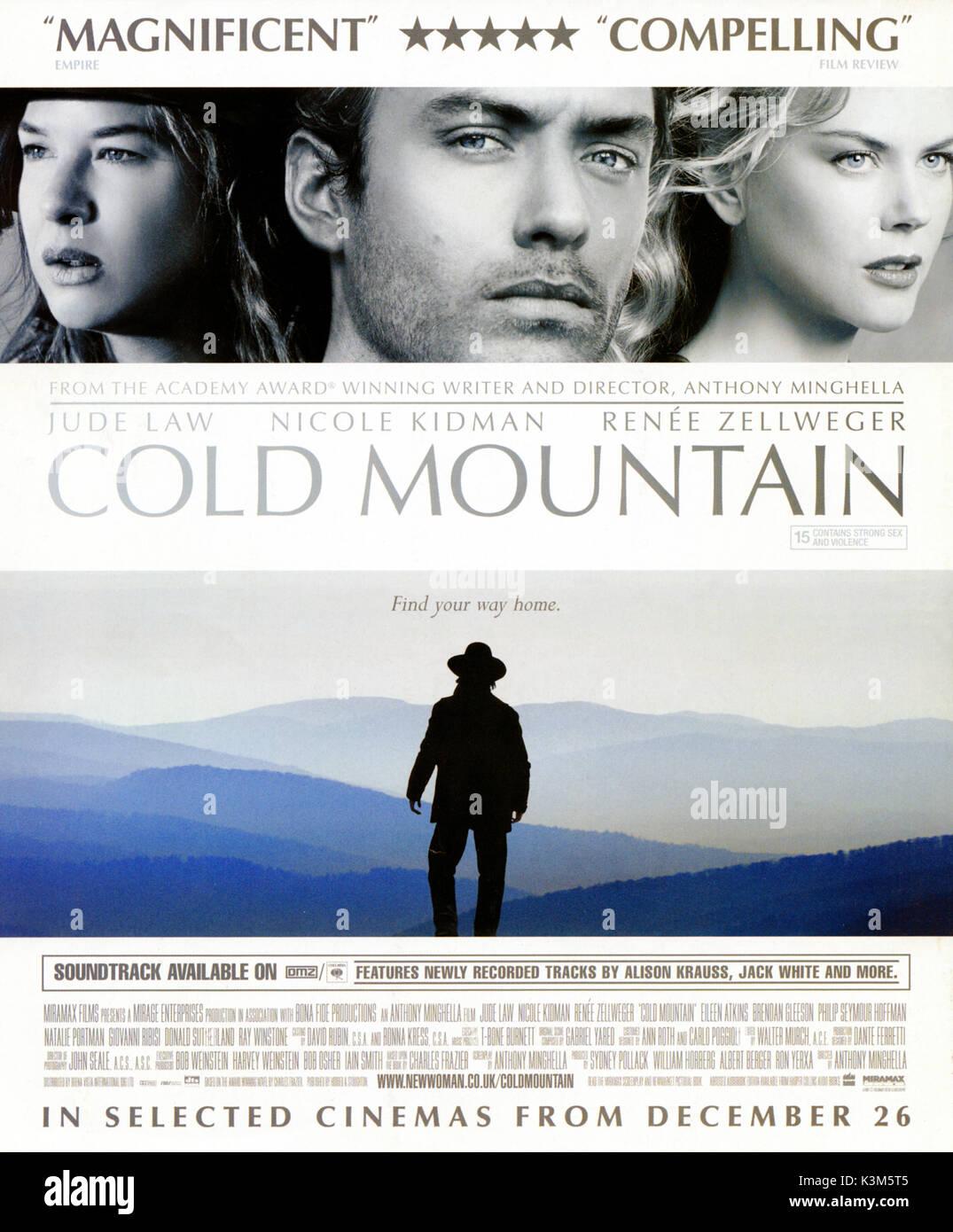 Cold Mountain Renee Zellweger Jude Law Nicole Kidman Cold Mountain Stock Photo Alamy