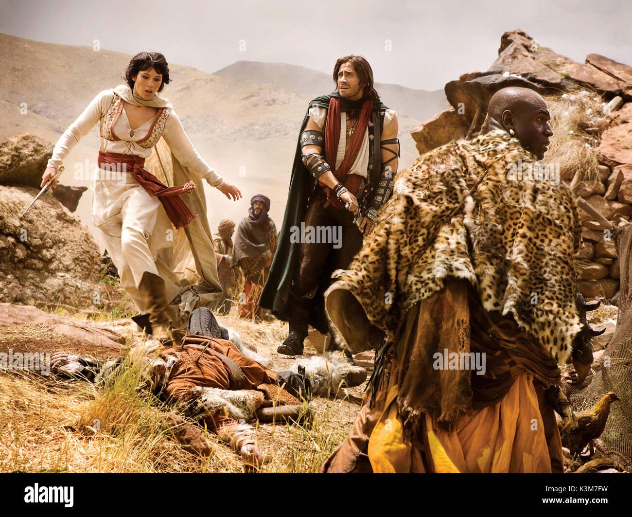 Prince Of Persia The Sands Of Time Gemma Arterton Jake Gyllenhaal Stock Photo Alamy