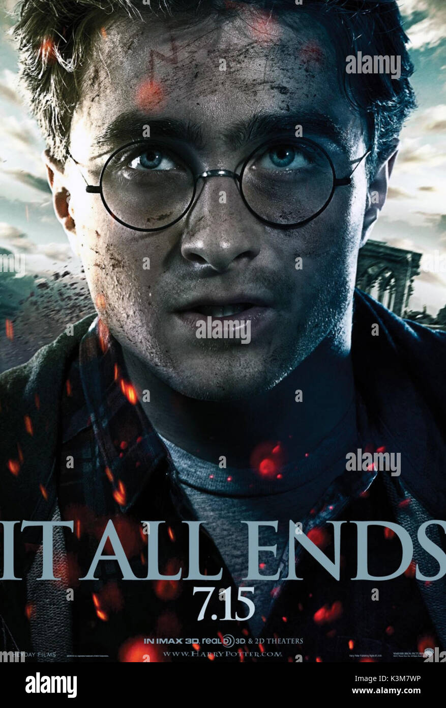 Harry Potter Deathly Hallows Part 2 High Resolution Stock Photography And Images Alamy