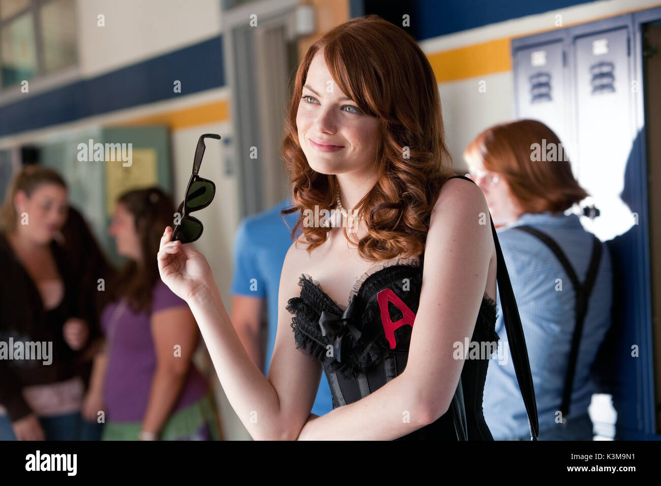 EASY A EMMA STONE     Date: 2010 - Stock Image