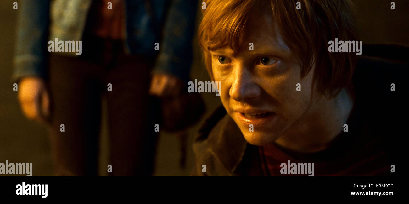 HARRY POTTER AND THE DEATHLY HALLOWS: PART 2 RUPERT GRINT as Ron Weasley     Date: 2011 - Stock Image