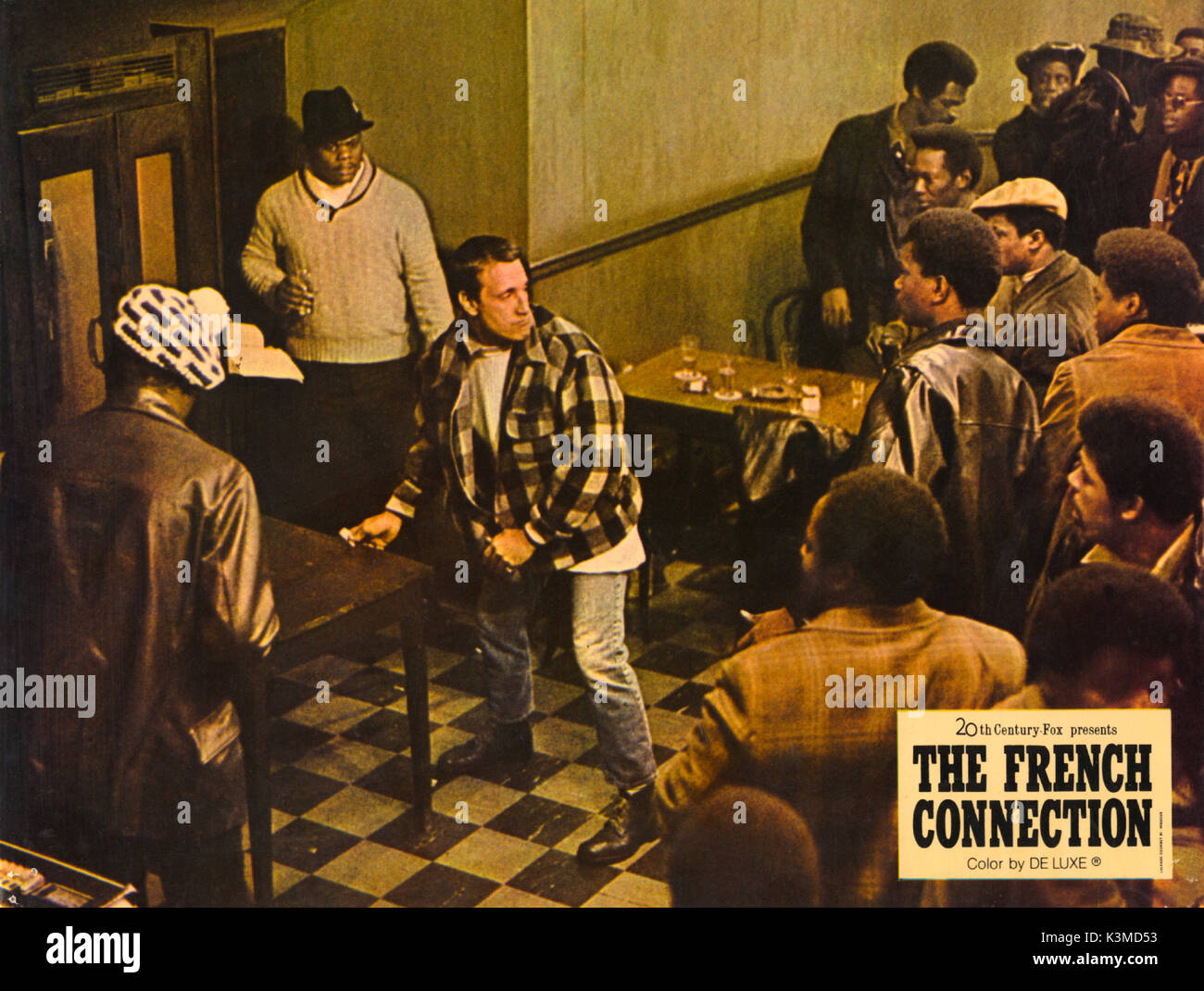 b095725f8ed THE FRENCH CONNECTION [US 1971] ROY SCHEIDER Date: 1971 Stock Photo ...