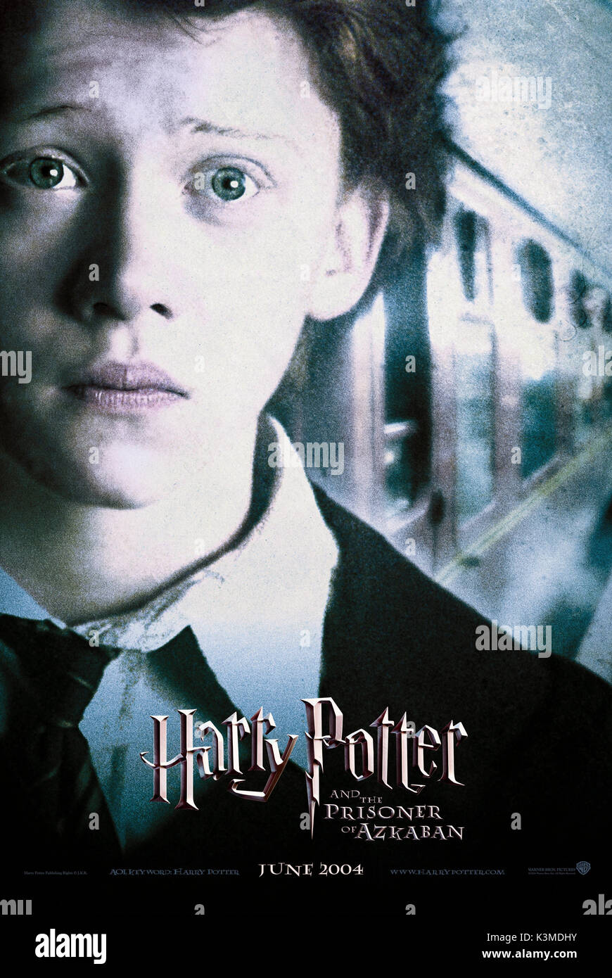 HARRY POTTER AND THE PRISONER OF AZKABAN [US 2004] RUPERT GRINT as Ron Weasley     Date: 2004 - Stock Image