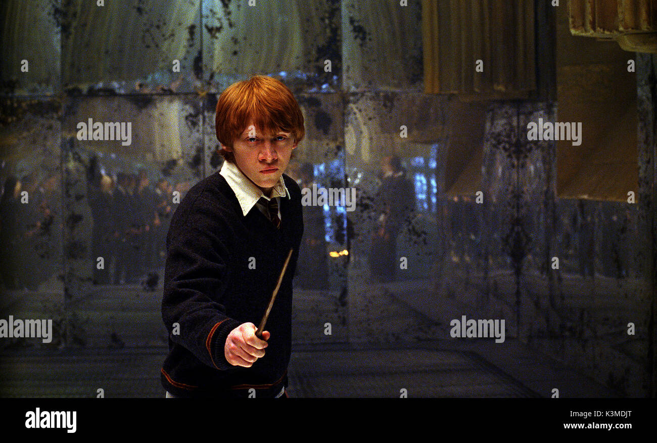 HARRY POTTER AND THE ORDER OF THE PHOENIX [US / BR 2007] RUPERT GRINT as Ron Weasley     Date: 2007 - Stock Image