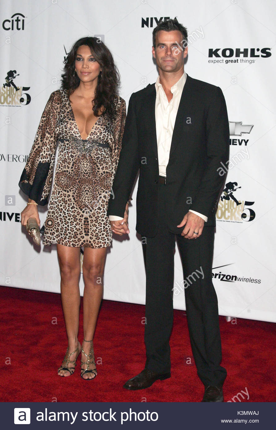Cameron Mathison and Vanessa Arevalo at theConde Nast ...